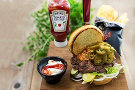 Texas Tailgate Burger