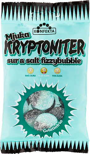 Mjuka Kryptoniter Fizzybubble
